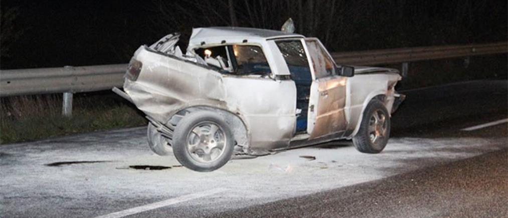 Δύο νεκροί από πτώση οχήματος σε βάλτο στη Νέα Αρτάκη