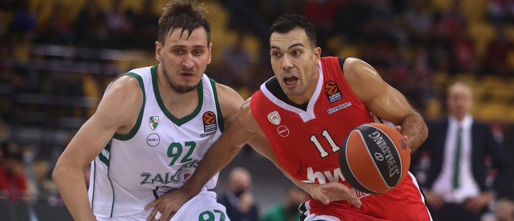 """Euroleague: Ο Ολυμπιακός """"καθάρισε"""" τη Ζαλγκίρις με ανατροπή"""