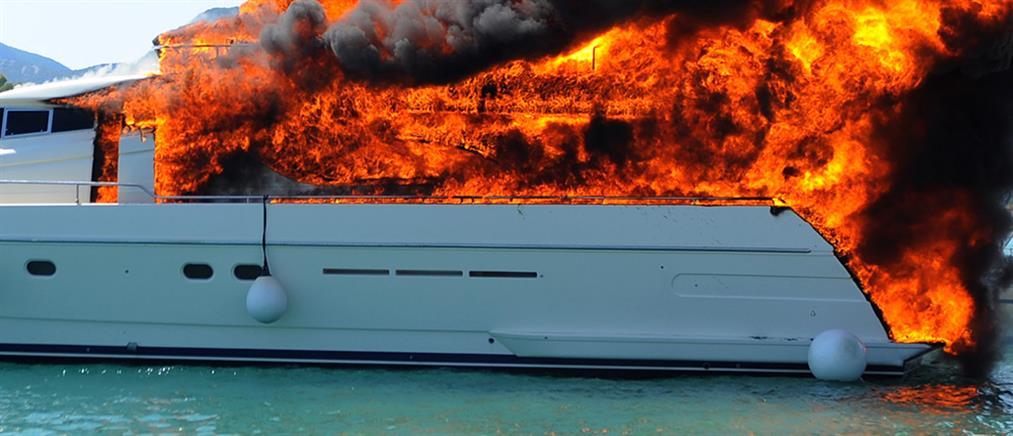 Συναγερμός για φωτιά σε ιστιοφόρο
