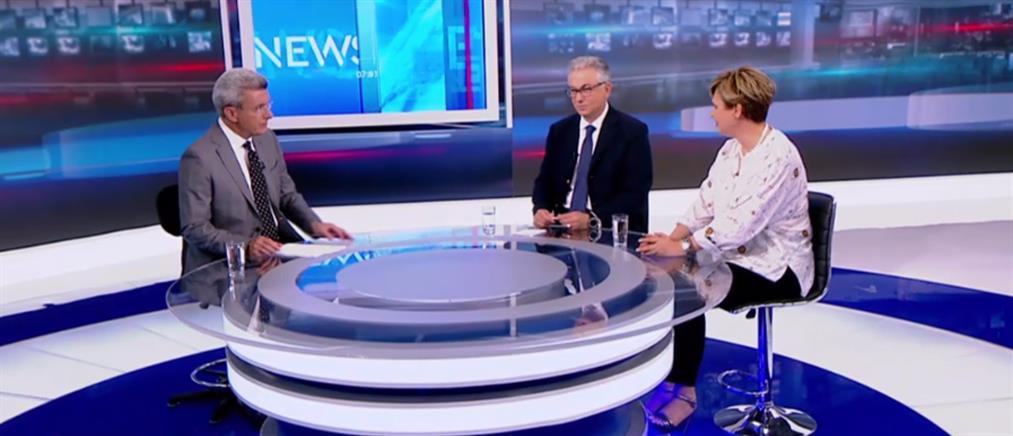 """Ρουσόπουλος-Γεροβασίλη στον ΑΝΤ1 για την """"επόμενη ημέρα"""" των εκλογών (βίντεο)"""