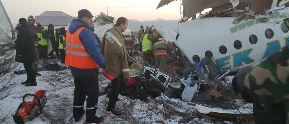 Ανατριχιαστικές περιγραφές για την αεροπορική τραγωδία στο Καζακστάν
