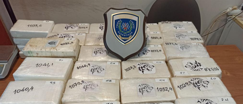 Τεράστια ποσότητα κοκαΐνης σε φορτηγό (εικόνες)