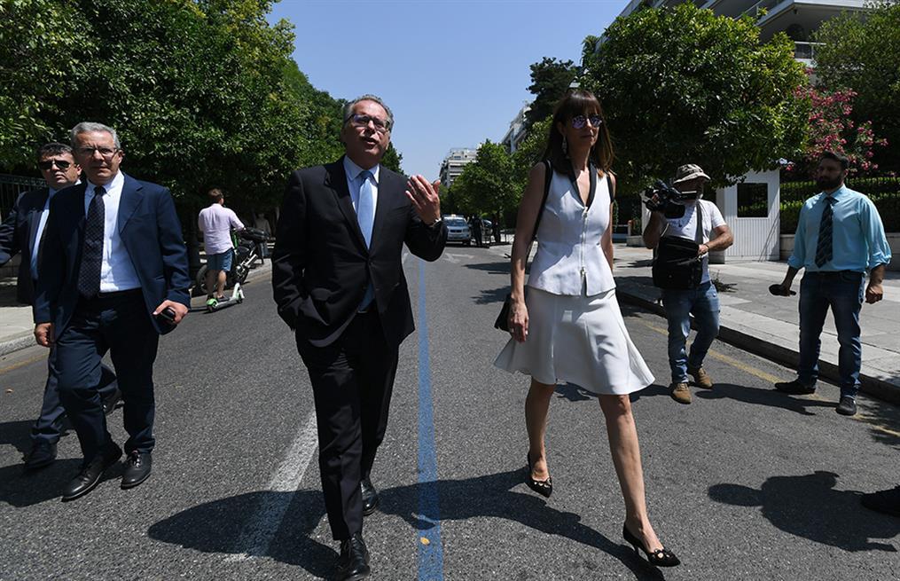 Προεδρικό Μέγαρο - ορκωμοσία
