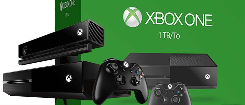 Νέο Xbox One με αποθηκευτικό χώρο 1 ΤΒ