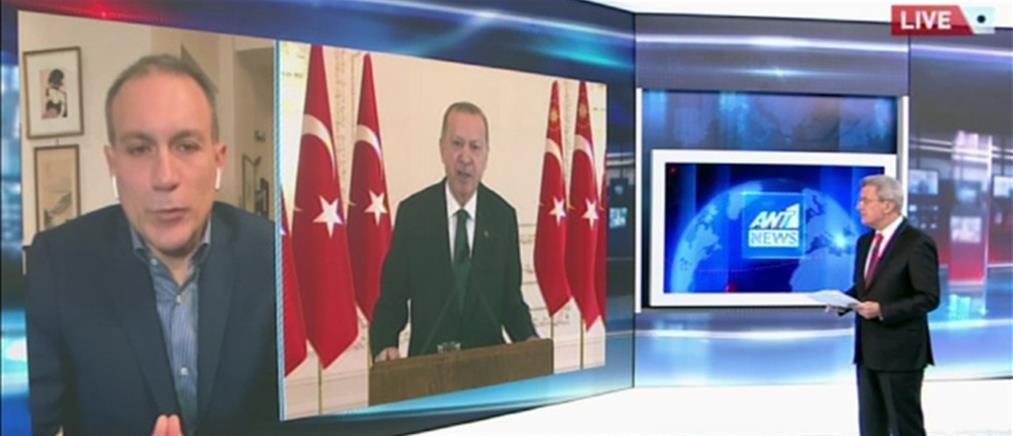 Ο Κωνσταντίνος Φίλης στον ΑΝΤ1 για την νέα ένταση που πυροδοτεί ο Ερντογάν (βίντεο)