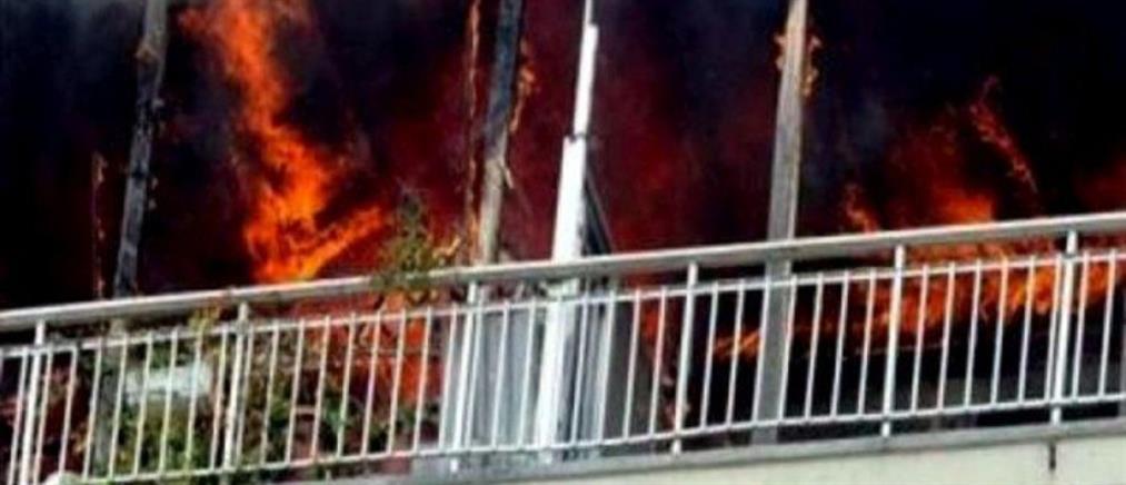 Νεκρός από φωτιά στο Μαΐστρο