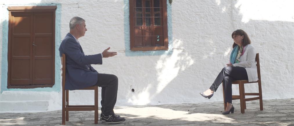 """Σακελλαροπούλου στο """"Special Report"""": Οι λαοί δεν ευημερούν μέσα στην ένταση"""