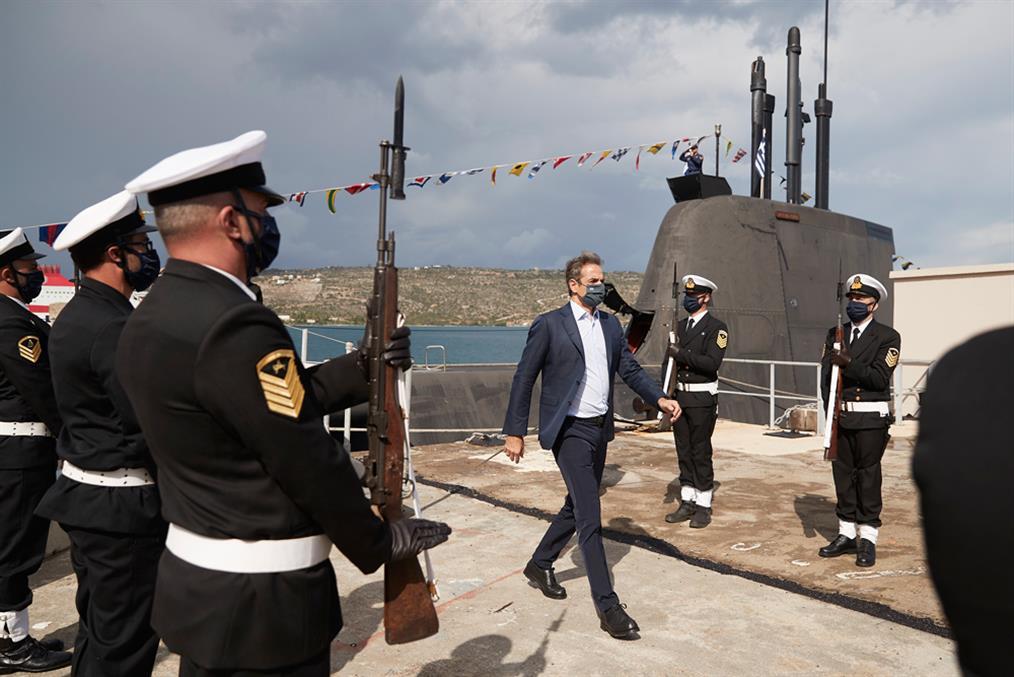 Κυριάκος Μητσοτάκης - Υποβρύχιο - ΚΑΤΣΩΝΗΣ - Gallery