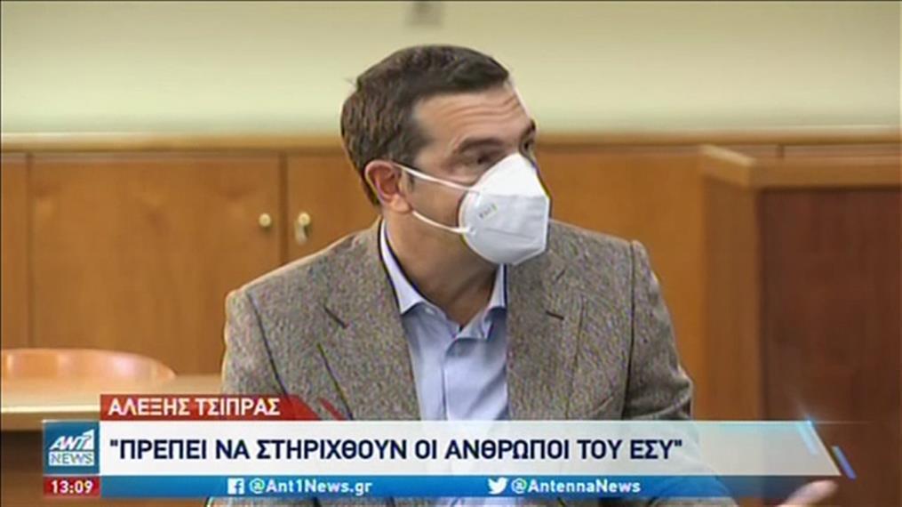 Επίσκεψη Τσίπρα στο Γενικό Κρατικό Νοσοκομείο Αθηνών