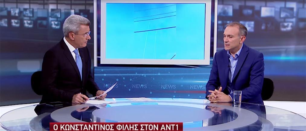 Φίλης στον ΑΝΤ1: τα δύο σενάρια για τη Συρία και οι τουρκικές προκλήσεις στην κυπριακή ΑΟΖ (βίντεο)