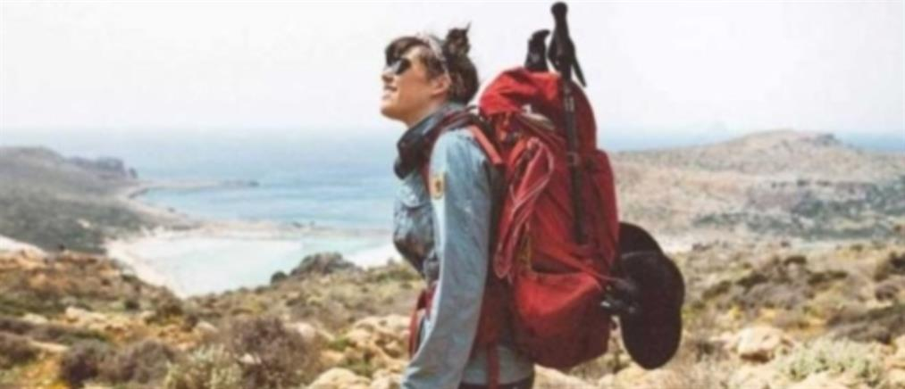 Η γυναίκα που περπάτησε όλη την Κρήτη