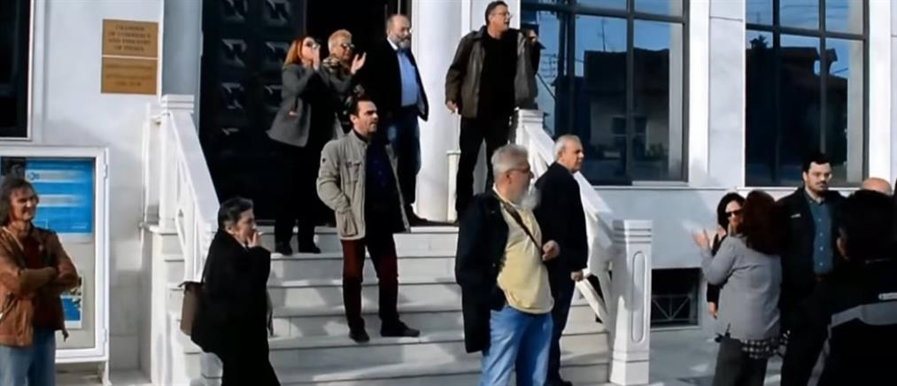 """Αρβανίτης στον ΑΝΤ1: """"πολίτες της Κατερίνης"""" είναι 25 άτομα; (βίντεο)"""