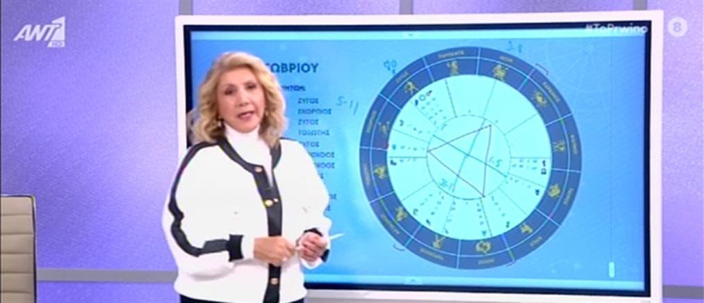 Ζώδια - Λίτσα Πατέρα: η Σελήνη και οι προβλέψεις για το τριήμερο (βίντεο)