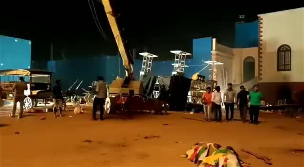 Δυστύχημα σε σκηνικό του Bollywood