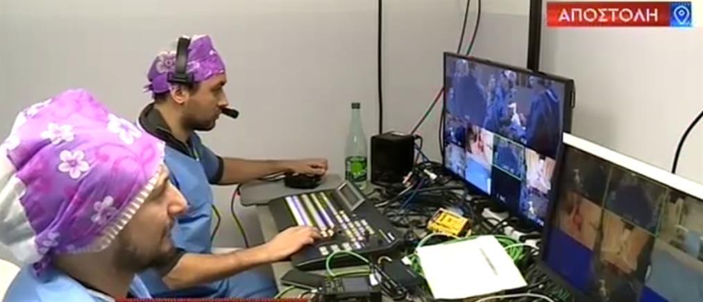 Ο ΑΝΤ1 στο παγκόσμιο ιατρικό συνέδριο με τους κορυφαίους πλαστικούς χειρουργούς (βίντεο)