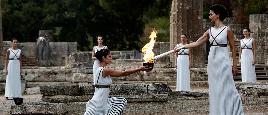 Κορονοϊός: Κεκλεισμένων των θυρών η Τελετή Αφής στην Αρχαία Ολυμπία