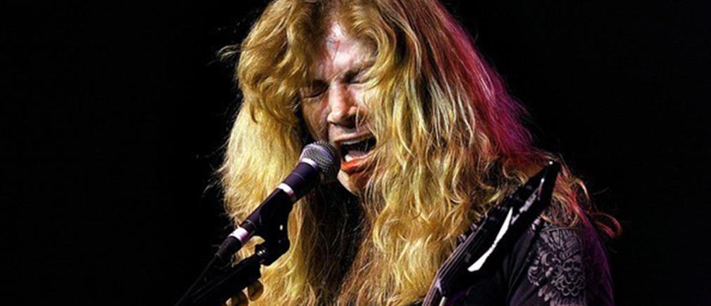 Καρκίνο στον λάρυγγα έχει ο τραγουδιστής των Megadeth