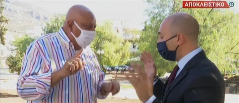 """Μπογδάνος-Ελγαντούρ """"διασταυρώνουν τα ξίφη τους"""" στον ΑΝΤ1 για μπούργκα και νικάμπ (βίντεο)"""