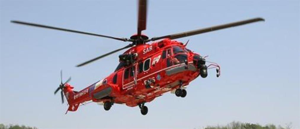 Συνετρίβη ελικόπτερο κατά τη διάρκεια αεροδιακομιδής