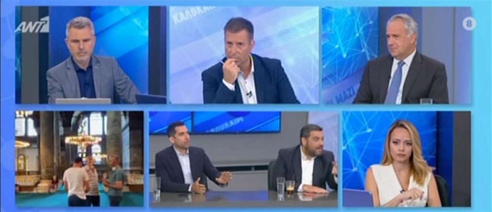 Βορίδης στον ΑΝΤ1: κανένας διάλογος με την Τουρκία υπό αυτές τις συνθήκες (βίντεο)