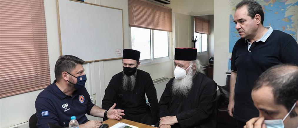 Φωτιές - Αρχιεπίσκοπος: Πρωτοβουλία για την αναδάσωση των καμμένων
