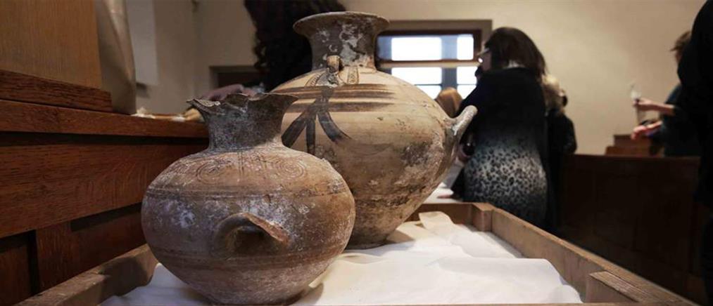Επιστρέφουν στην Ελλάδα αρχαία κλεμμένα από την Κατοχή