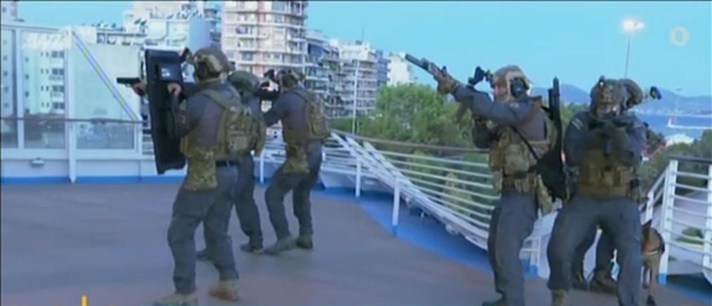 Αποκλειστικό ΑΝΤ1: ειδικά εκπαιδευμένοι κομάντο του Λιμενικού σε δράση (βίντεο)