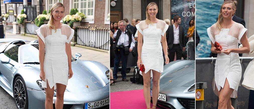 Η σέξι Σαράποβα, η Porsche και ο Γουέμπερ