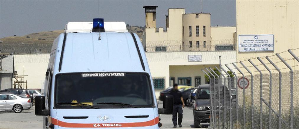 Τρίκαλα: Απόπειρα αυτοκτονίας του κρατούμενου που σκότωσε τον συγκρατούμενό του