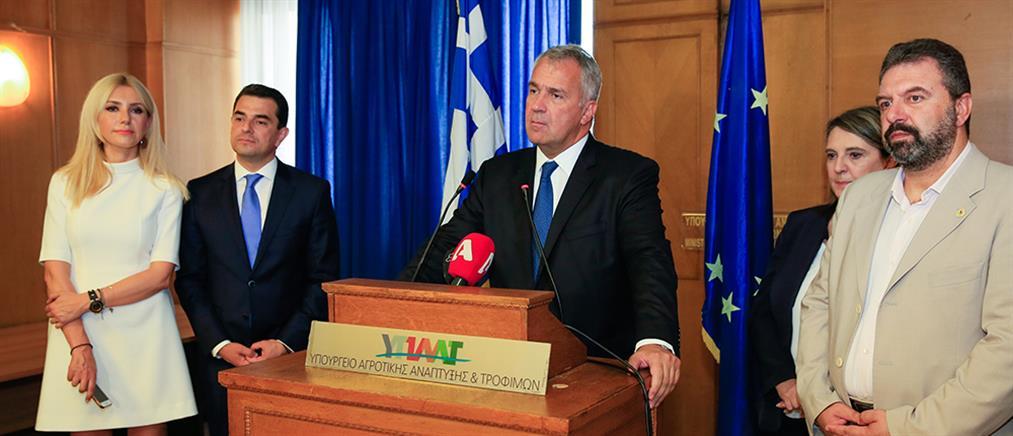 Βορίδης: προτεραιότητα η διαπραγμάτευση της Κοινής Αγροτικής Πολιτικής