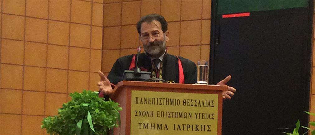 Επίτιμος Διδάκτωρ της Ιατρικής του Πανεπιστημίου Θεσσαλίας ο Κύπρος Νικολαΐδης (φωτο)