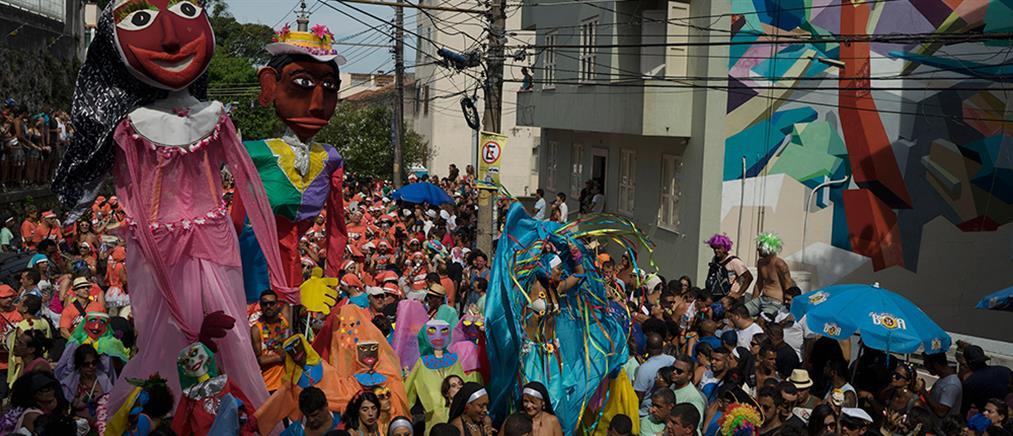 Αναβλήθηκε το καρναβάλι στο Ρίο ντε Ζανέιρο
