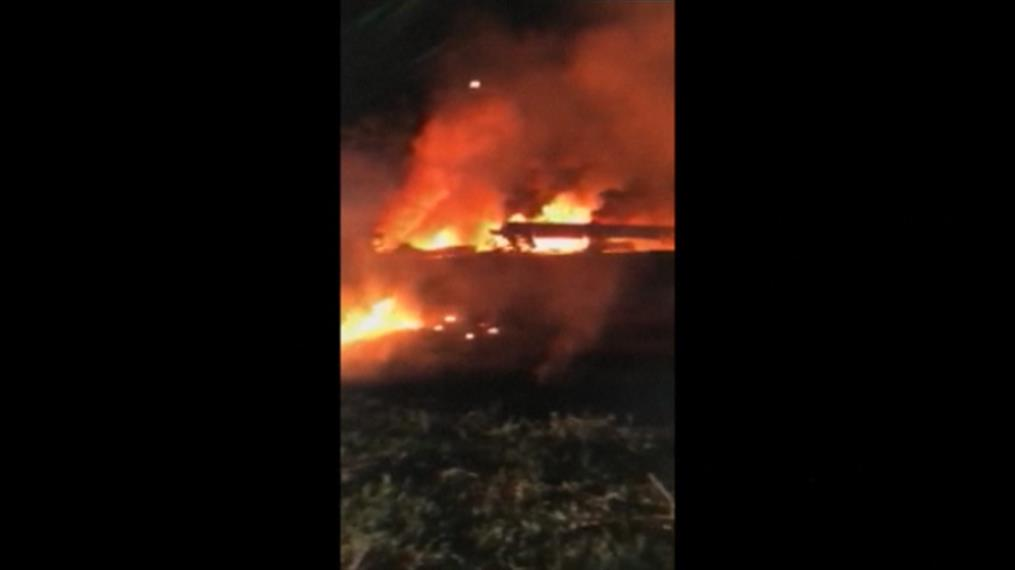 Συνετρίβη στρατιωτικό αεροσκάφος στην Ουκρανία