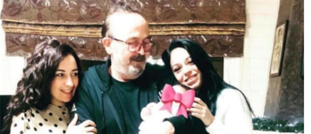 Σταμάτης Γονίδης: η πρώτη φωτογραφία αγκαλιά με την κόρη του
