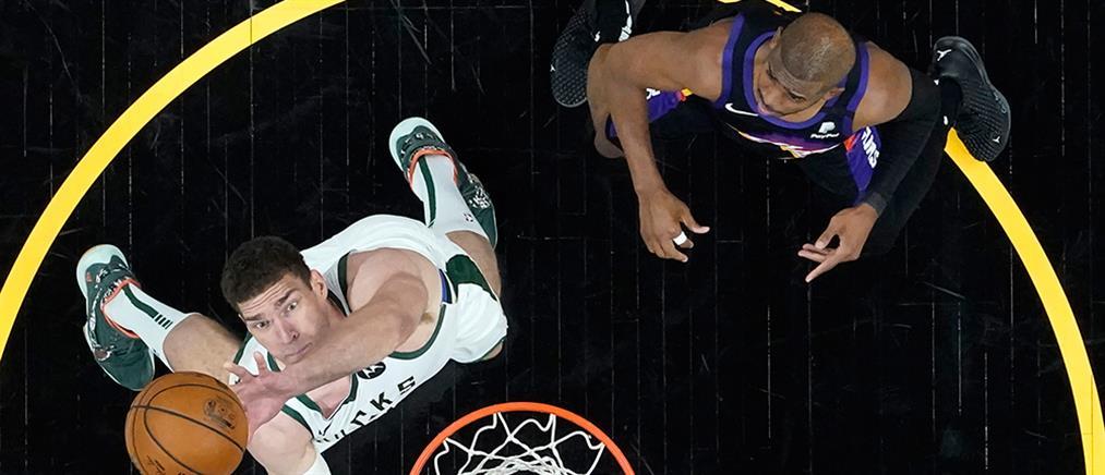 NBA: επιβλητικοί Σανς στην επιστροφή του Αντετοκούνμπο