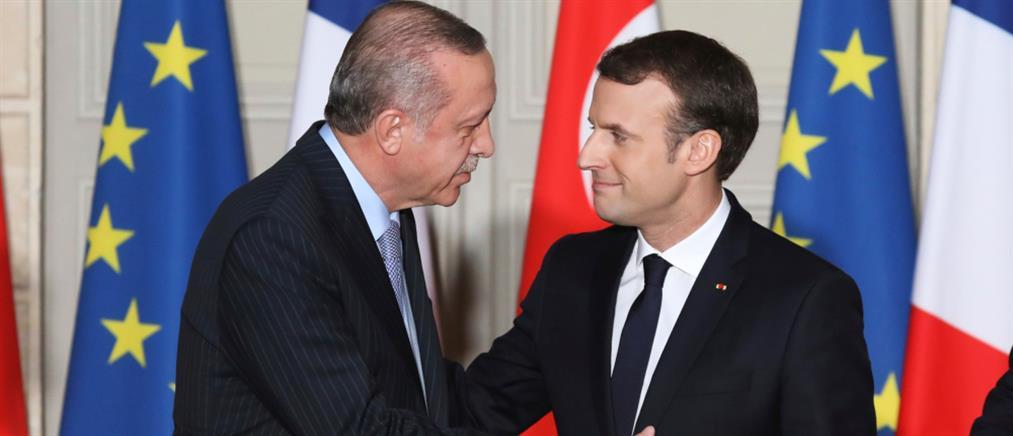 Επιστολή Μακρόν στον Ερντογάν για βελτίωση των σχέσεών τους
