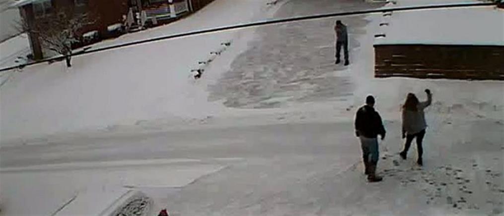 Βίντεο: Σκότωσε τους γείτονες για το... χιόνι στην αυλή του! (ΣΚΛΗΡΕΣ ΕΙΚΟΝΕΣ)