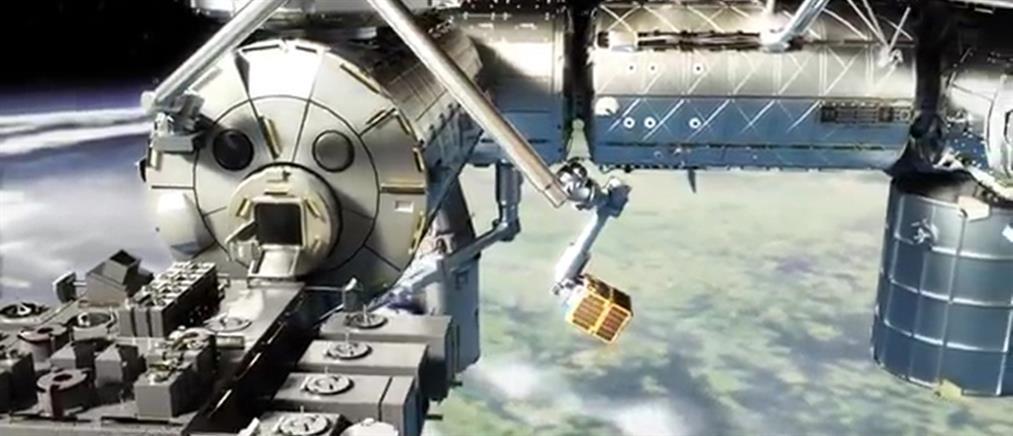"""Εκτοξεύθηκε το πρώτο """"σκουπιδιάρικο"""" του διαστήματος (βίντεο)"""