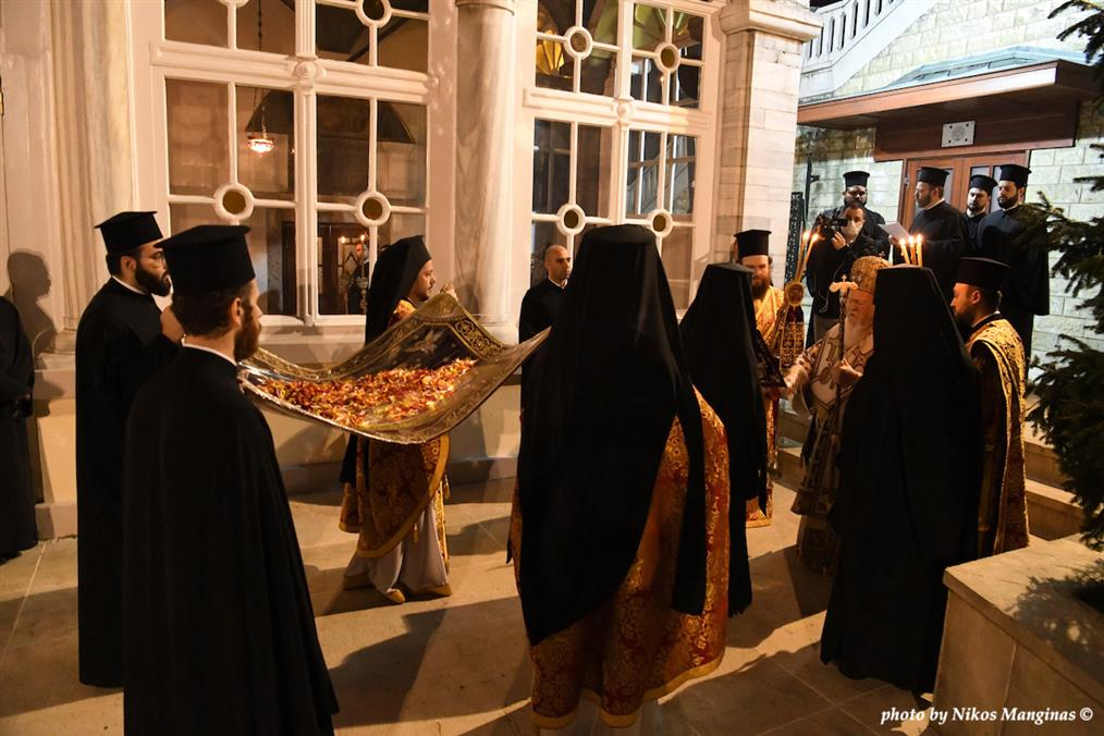 Αποκαθήλωση και Επιτάφιος στο Οικουμενικό Πατριαρχείο