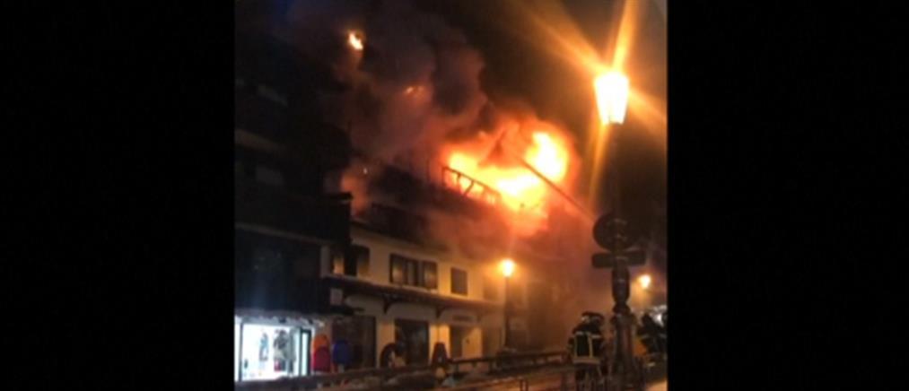 Φονική κόλαση φωτιάς στις Γαλλικές Άλπεις (βίντεο)