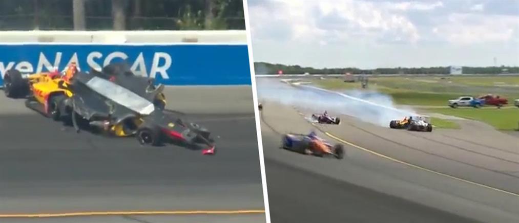 Τρομακτικό ατύχημα σε αγώνα IndyCar (βίντεο)