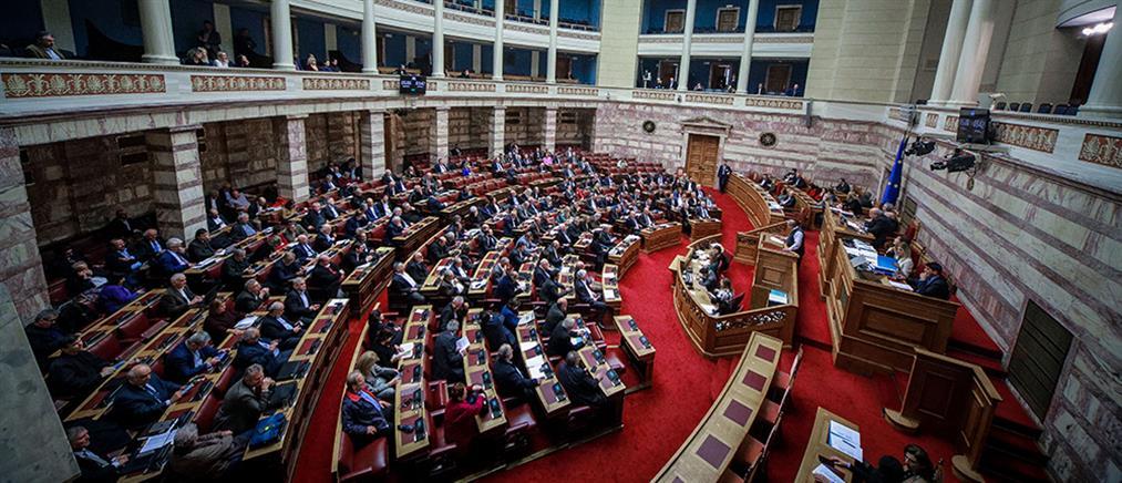 Άγριος καυγάς στη Βουλή στη συζήτηση του αθλητικού νομοσχεδίου (βίντεο)