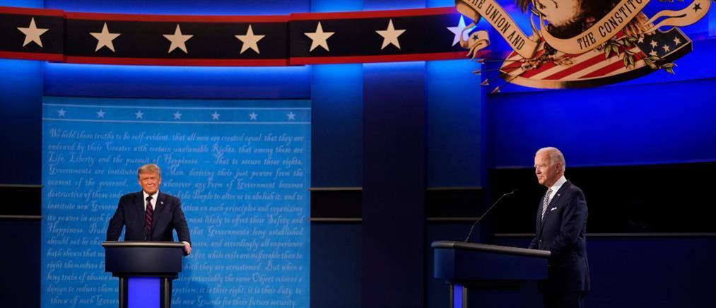 ANT1: LIVE το δεύτερο debate Τραμπ – Μπάιντεν για τις αμερικανικές εκλογές
