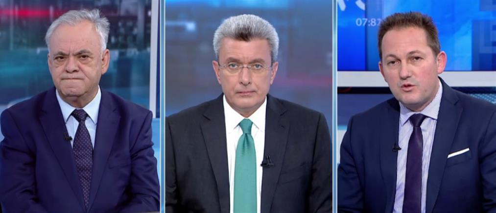 Δραγασάκης – Πέτσας – Καστανίδης στον ΑΝΤ1 για τις εκλογές (βίντεο)