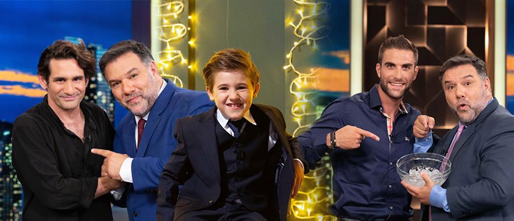 """The 2Night Show"": ο συμπαρουσιαστής και οι πρώτοι καλεσμένοι (εικόνες)"