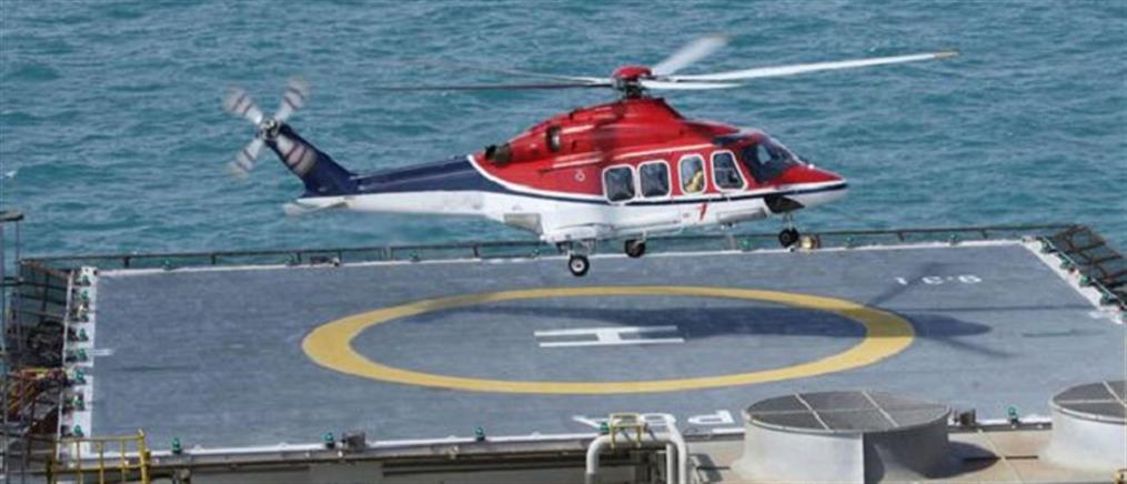 Ιταλικά ελικόπτερα μίσθωσε η Τουρκία για τις έρευνες στη Μεσόγειο