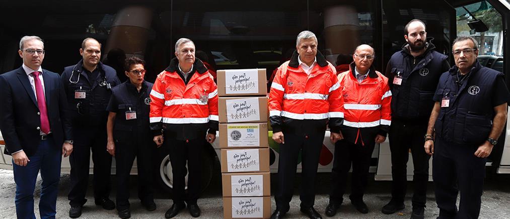 Σεισμός στην Αλβανία: Γιατρούς και φάρμακα στέλνει ο ΙΣΑ (εικόνες)