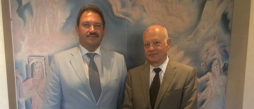 """Συνάντηση Παπαδημητρίου – Mirum Hellas για την επένδυση """"μαμούθ"""" στον Άγιο Νικόλαο"""