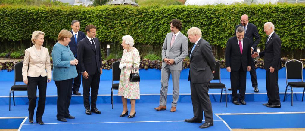G7: Η βασίλισσα Ελισάβετ παρέθεσε δεξίωση στους ηγέτες (εικόνες)