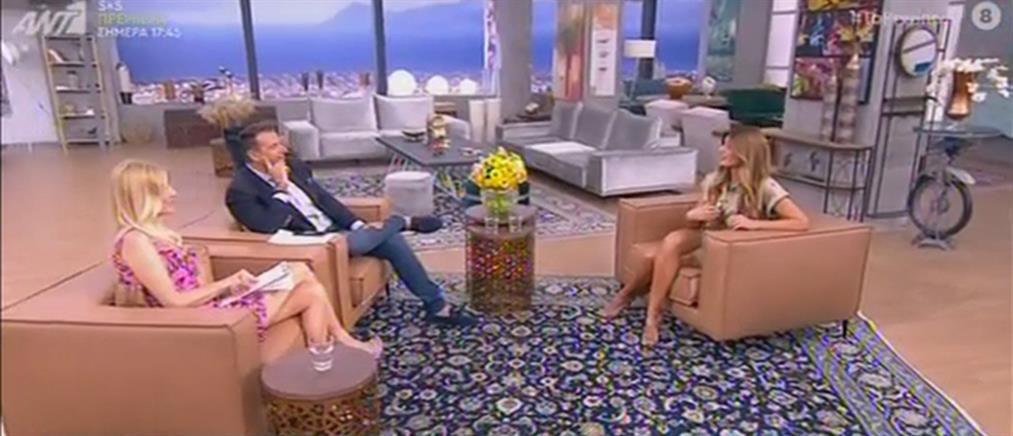 """Ανθή Σαλαγκούδη: η κόντρα με την Φαίη Σκορδά στο """"Πρωινό"""" για τα sms και την μητέρα της (βίντεο)"""